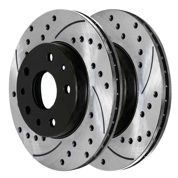 Front Performance Brake Rotor Pair 12.71 Inch Diameter 5 Stud - Part # PR65126LR