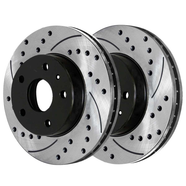 Rear Performance Brake Rotor Pair 12.4 Inch Diameter - Part # PR65173LR