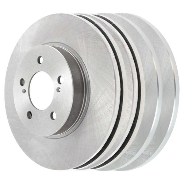 [Front & Rear Set] 4 Brake Rotors - Part # R41052R41270