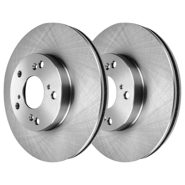 Front Brake Rotor Pair 2 Pieces Fits Driver and Passenger side 11.1 Inch Rotor Diameter - Part # R41259PR