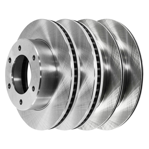 [Front & Rear Set] 4 Brake Rotors - Part # R41269R41296