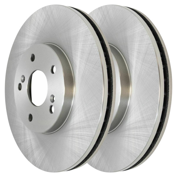 Front Disc Brake Rotors Set of 2, Driver and Passenger - Part # R41277PR