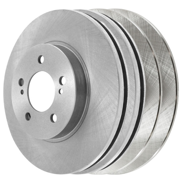 [Front & Rear Set] 4 Brake Rotors - Part # R41277R41317