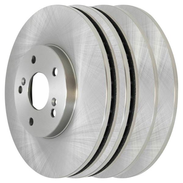 [Front & Rear Set] 4 Brake Rotors - Part # R41277R41318