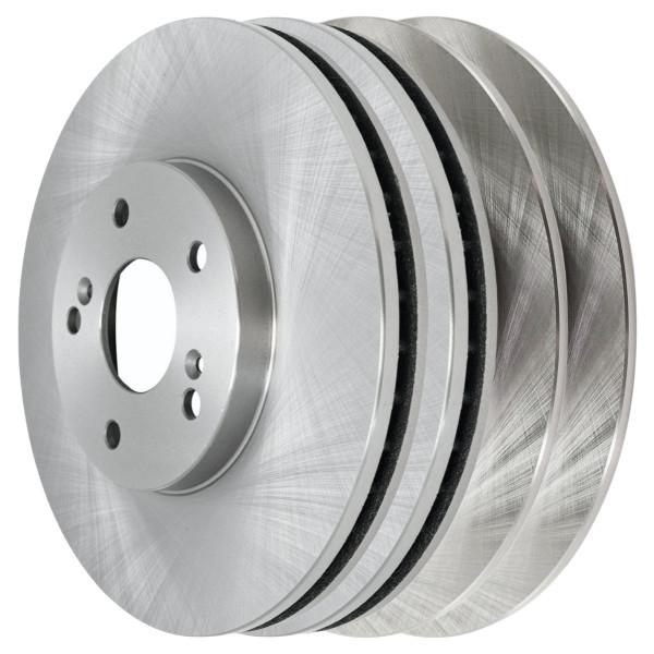 [Front & Rear Set] 4 Brake Rotors - Part # R41277R41319