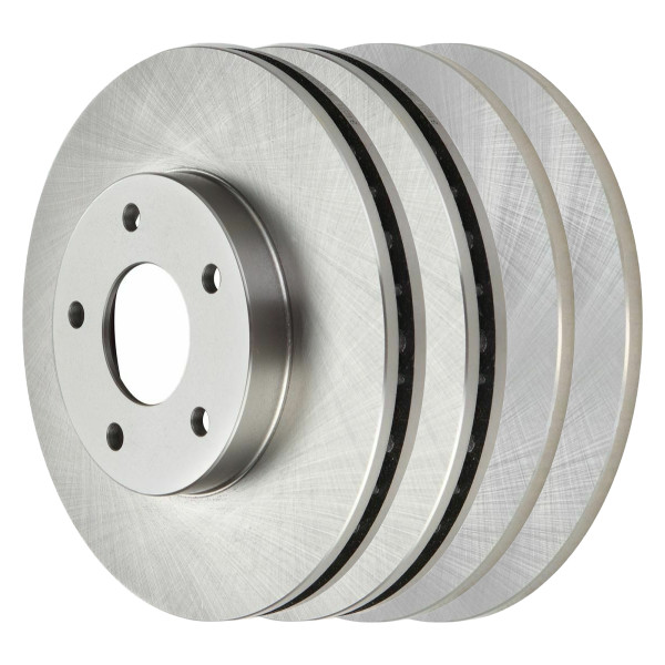 [Front & Rear Set] 4 Brake Rotors - Part # R41279R41136