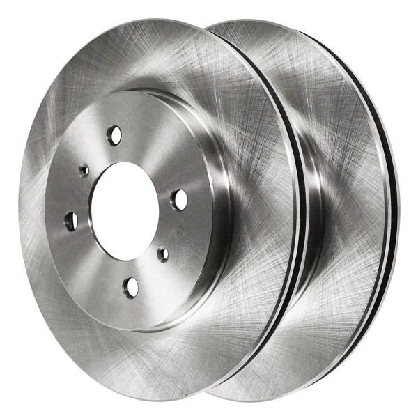 Pair (2) of Front Disc Brake Rotors - Part # R41302PR