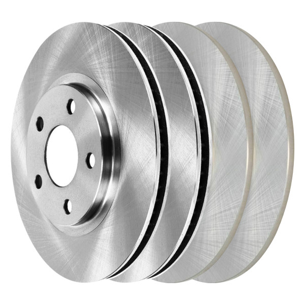 [Front & Rear Set] 4 Brake Rotors - Part # R41308R41136