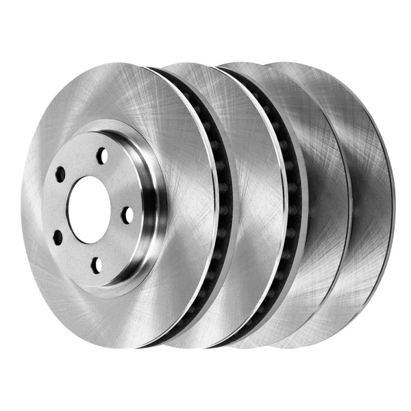[Front & Rear Set] 4 Brake Rotors - Part # R41308R41314