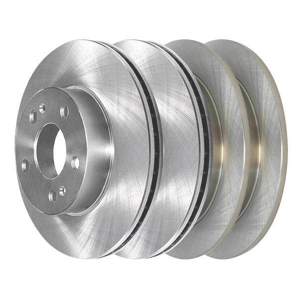 [Front & Rear Set] 4 Brake Rotors - Part # R41315R41338