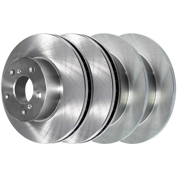 [Front & Rear Set] 4 Brake Rotors - Part # R41316R41359
