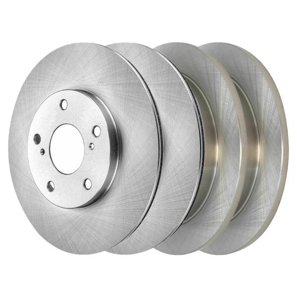 [Front & Rear Set] 4 Brake Rotors - Part # R41342R41338