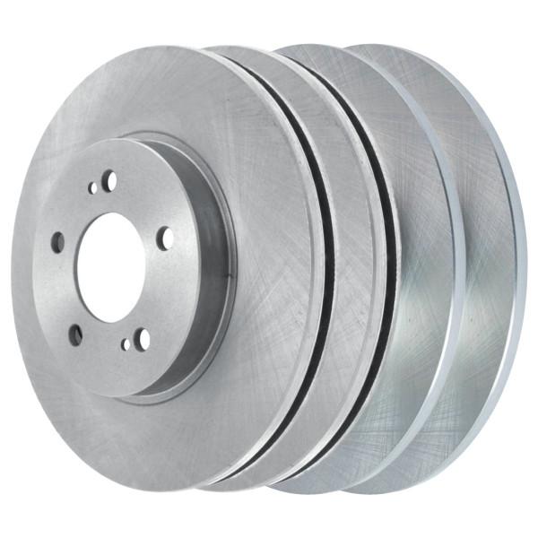 [Front & Rear Set] 4 Brake Rotors - Part # R41429-R41585