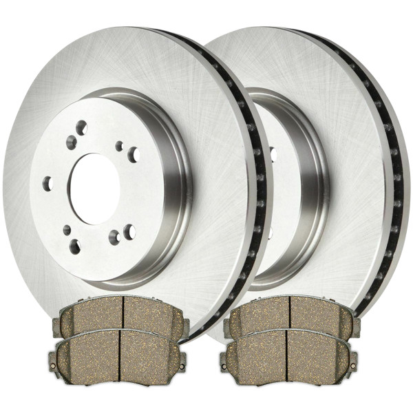 [Front Set] Rotors & Pads - Part # R41457SCD1521