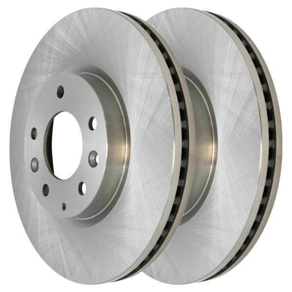 Pair (2) of Front Disc Brake Rotors - Part # R41462PR