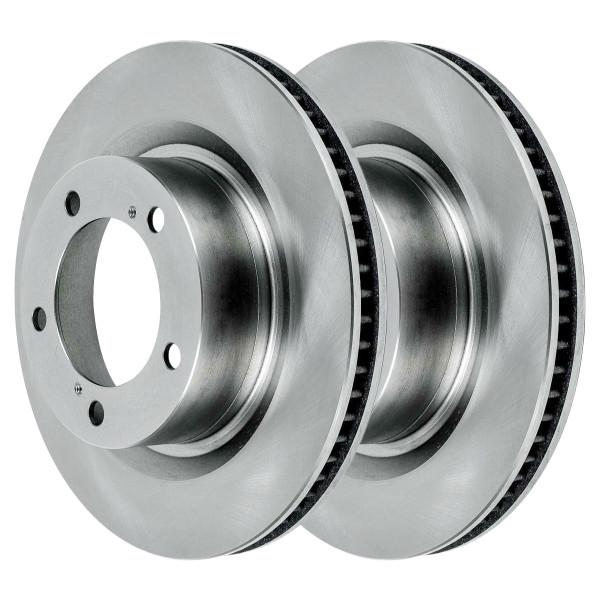Pair (2) of Front Disc Brake Rotors - Part # R41484PR