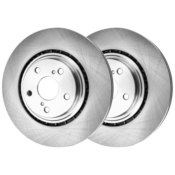 Front Brake Rotor Pair 2 Pieces Fits Driver and Passenger side - Part # R41513PR