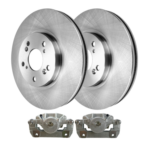 Front Disc Brake Calipers and Rotors Kit, Driver and Passenger Side - Part # R41521LR-BC29724