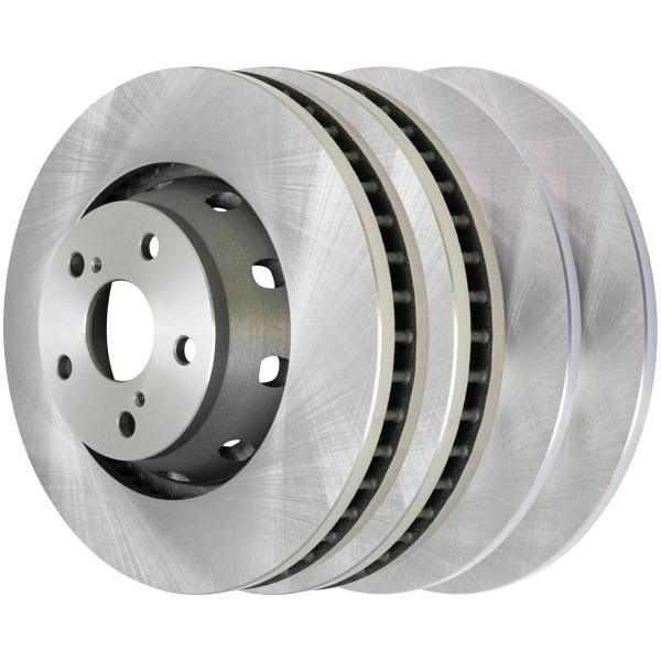 Full Set of Front & Rear Rotors - Part # R41535-R41534