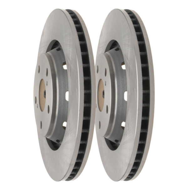 Pair (2) of Front Disc Brake Rotors - Part # R41535PR
