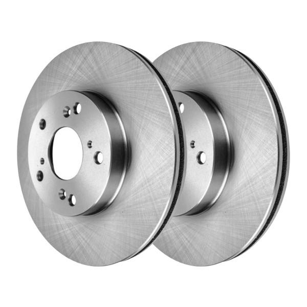 Front Disc Brake Rotors Set of 2, Driver and Passenger - Part # R41603PR