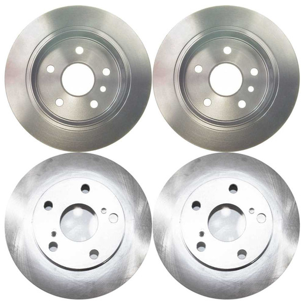 [Front & Rear Set] 4 Brake Rotors - Part # R4293R41077