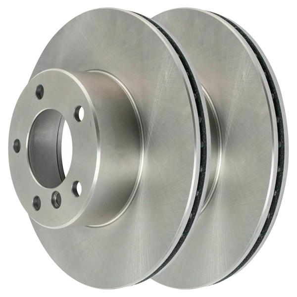 Pair (2) of Front Disc Brake Rotors - Part # R44285PR