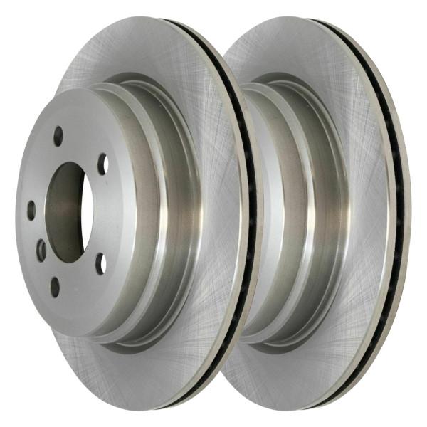 Pair (2) of Rear Disc Brake Rotors - Part # R44317PR