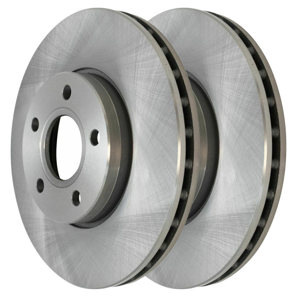 Pair (2) of Front Disc Brake Rotors - Part # R44366PR