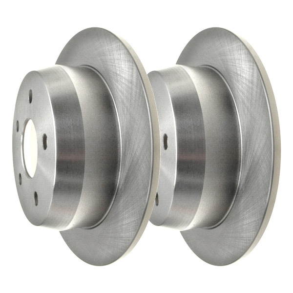 Rear Brake Rotor Pair 2 Pieces Fits Driver and Passenger side - Part # R6121PR