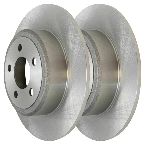 Pair (2) of Rear Disc Brake Rotors - Part # R63023PR