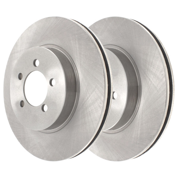 Front Disc Brake Rotor Pair 12.60 Inch Diameter - Part # R63024PR