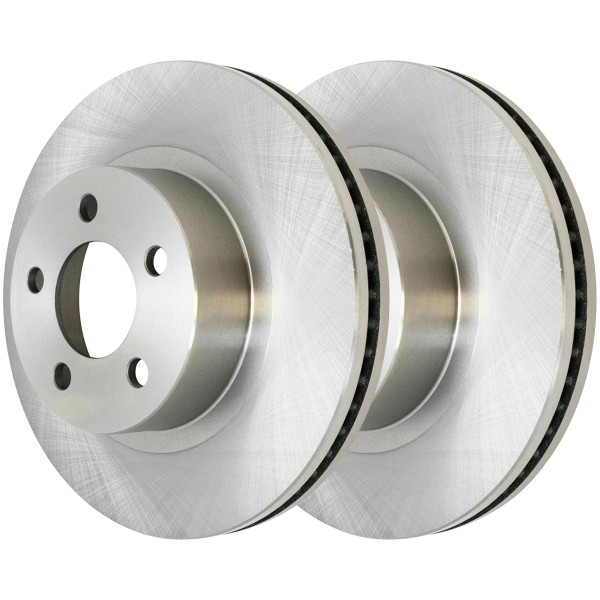 Front Disc Brake Rotor Pair 11.26 Inch Diameter 2.6 Inch Height - Part # R64037PR