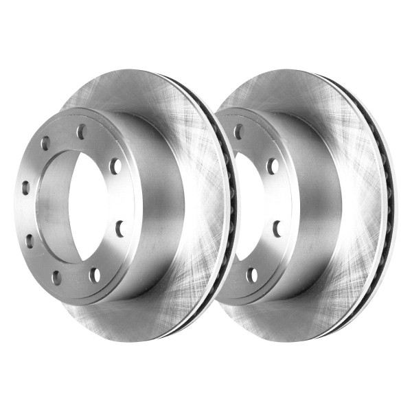 Front Brake Rotor Pair 2 Pieces Fits Driver and Passenger side 4WD 13.03 Inch Rotor Diameter - Part # R64080PR