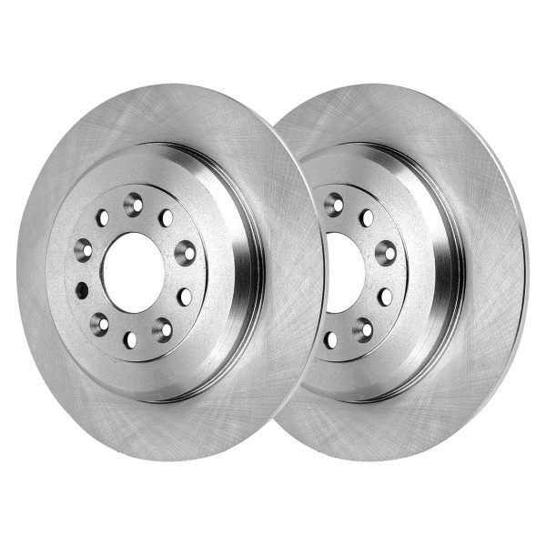 Rear Pair 2 Brake Rotors 5 Stud - Part # R64127PR