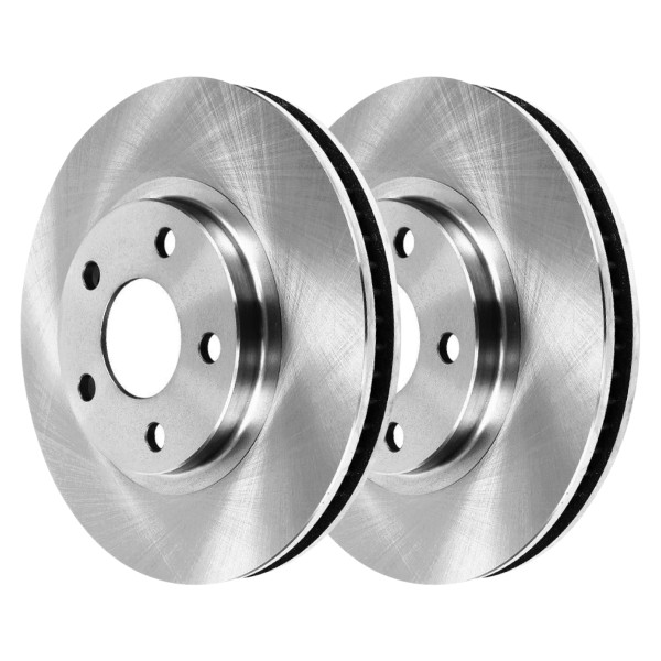 Pair (2) of Front Disc Brake Rotors - Part # R64132PR