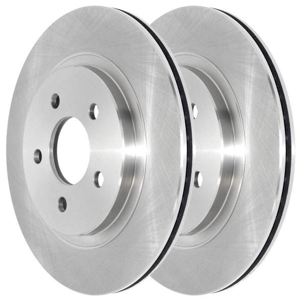 Rear Driver and Passenger Side Disc Brake Rotors Set of 2 - Part # R64133PR