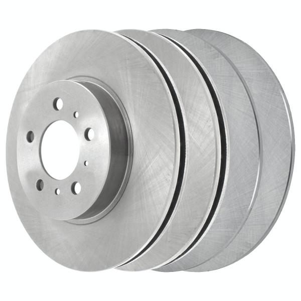 [Front & Rear Set] 4 Brake Rotors - Part # R64144R41327
