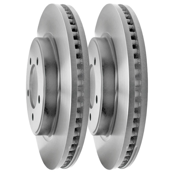 Front Brake Rotor Pair 2 Pieces Fits Driver and Passenger side - Part # R64145PR