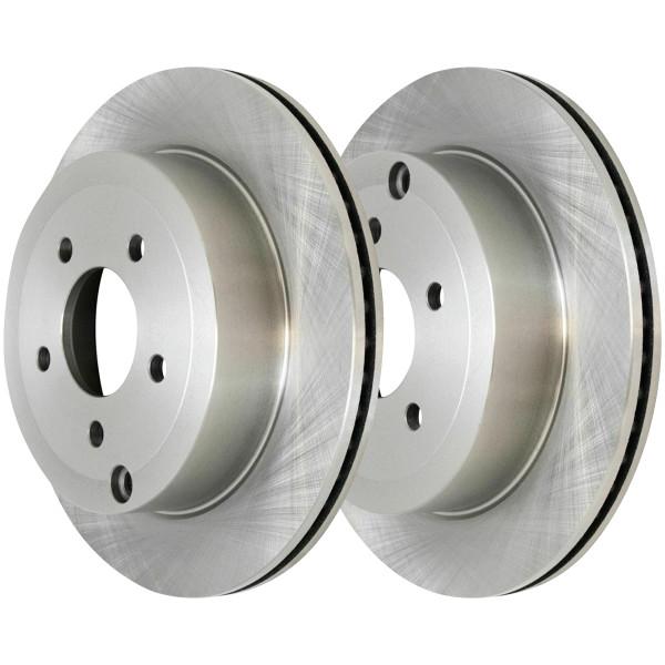 Rear Disc Brake Rotors Set of 2, Driver and Passenger Side - Part # R64158PR