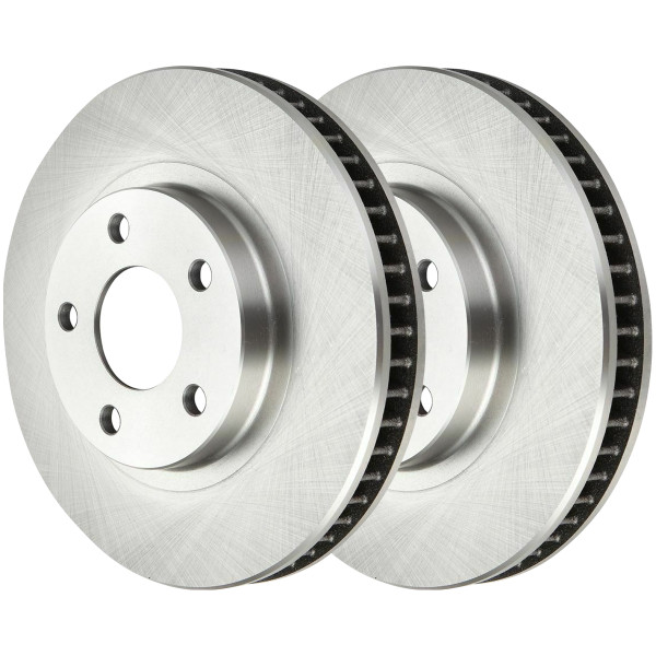 Front Disc Brake Rotor Pair 11.92 Inch Diameter 5 Stud - Part # R65036PR