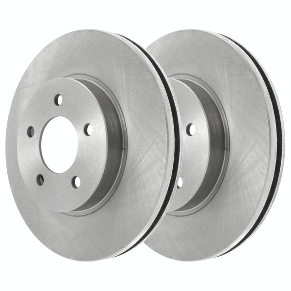 Front Brake Rotor Pair 2 Pieces Fits Driver and Passenger side 10.94 Inch Rotor Diameter - Part # R65042PR