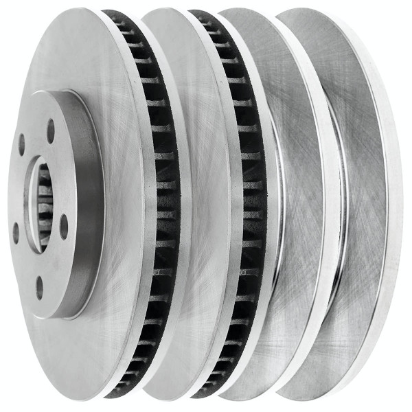 [Front & Rear Set] 4 Brake Rotors - Part # R65042R65041