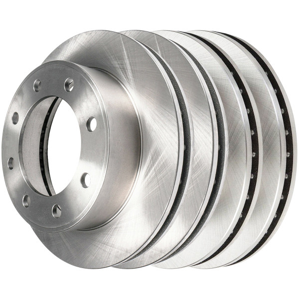 [Front & Rear Set] 4 Brake Rotors - Part # R65058R65057