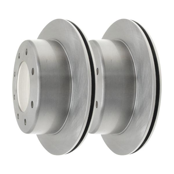 Rear Disc Brake Rotors Set of 2, Driver and Passenger Side - Part # R65079PR