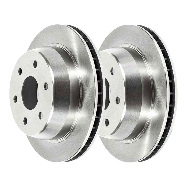 Rear Disc Brake Rotor Pair 330mm Diameter 96mm Height - Part # R65086PR