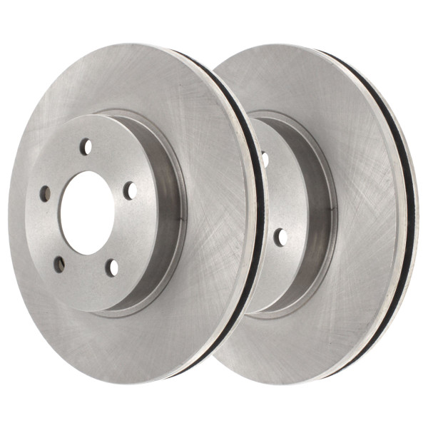 Front Disc Brake Rotor Pair 296mm Diameter - Part # R65095PR