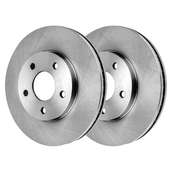 Front Brake Rotor Pair 2 Pieces Fits Driver and Passenger side - Part # R65124PR