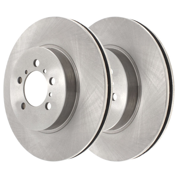 [Front Set] 2 Brake Rotors - Part # R65126PR