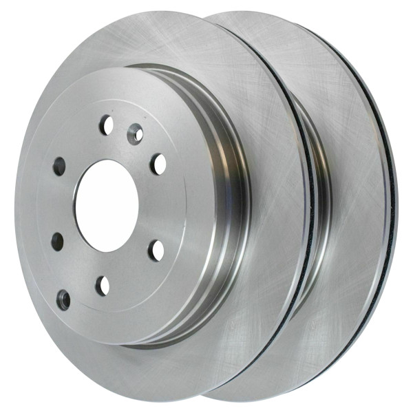 Pair (2) of Rear Disc Brake Rotors - Part # R65153PR